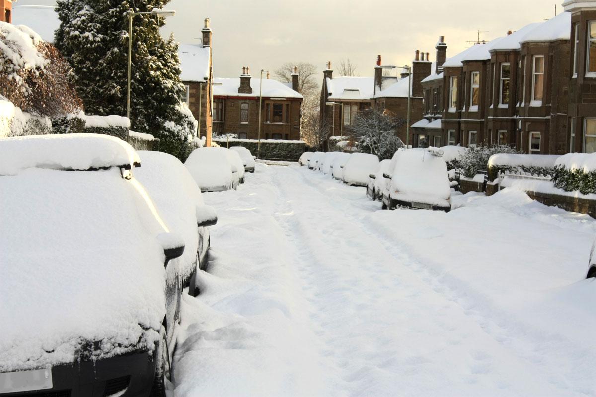 Obbligo catene da neve